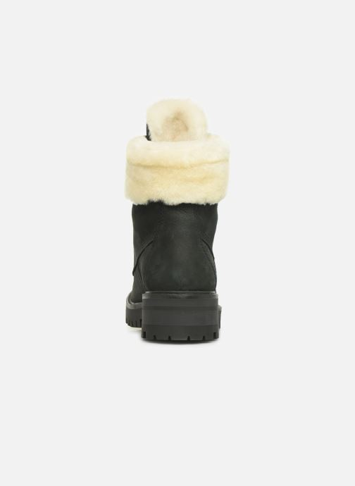 Bottines et boots Timberland Courmayeur Valley 6in w/Shearling Noir vue droite