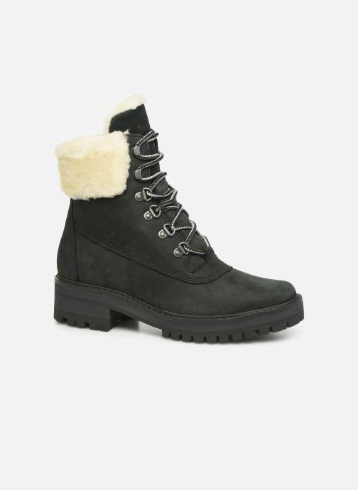 Bottines et boots Timberland Courmayeur Valley 6in wShearling Noir vue détail/paire