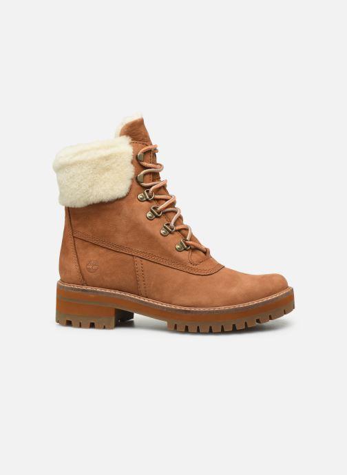 Boots en enkellaarsjes Timberland Courmayeur Valley 6in w/Shearling Bruin achterkant