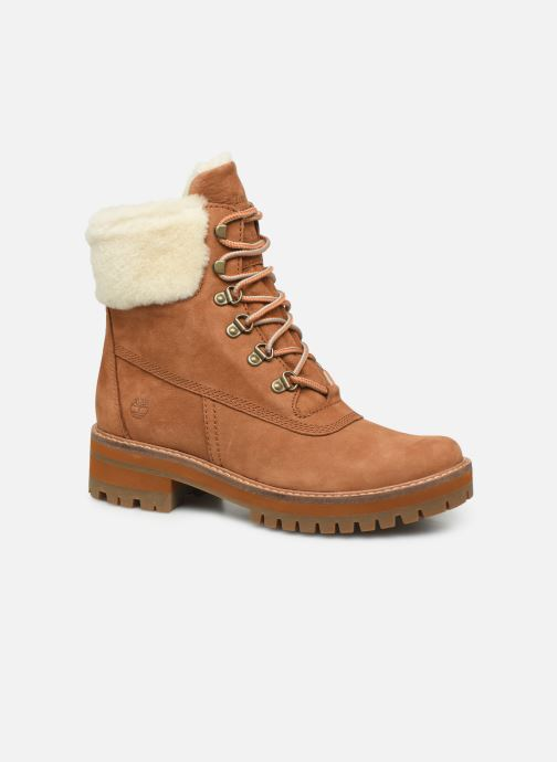 Bottines et boots Timberland Courmayeur Valley 6in wShearling Marron vue détail/paire