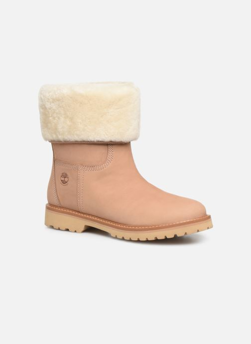 Bottines et boots Timberland Chamonix Valley WP Shearling Fold Down Beige vue détail/paire