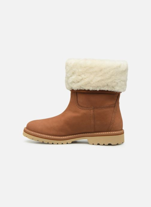 Bottines et boots Timberland Chamonix Valley WP Shearling Fold Down Marron vue face