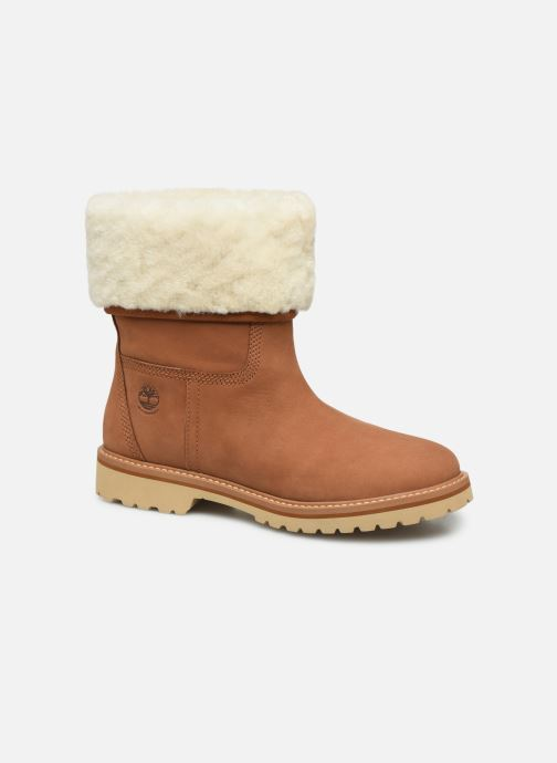 Bottines et boots Timberland Chamonix Valley WP Shearling Fold Down Marron vue détail/paire