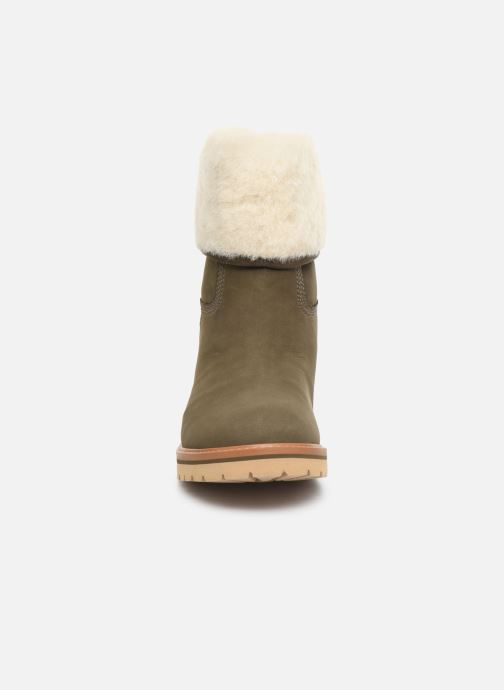 Bottines et boots Timberland Chamonix Valley WP Shearling Fold Down Vert vue portées chaussures