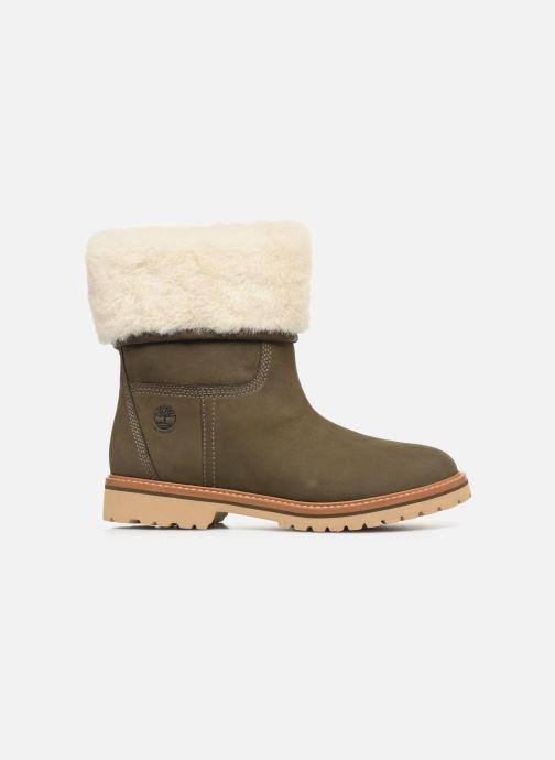 Boots en enkellaarsjes Timberland Chamonix Valley WP Shearling Fold Down Groen achterkant