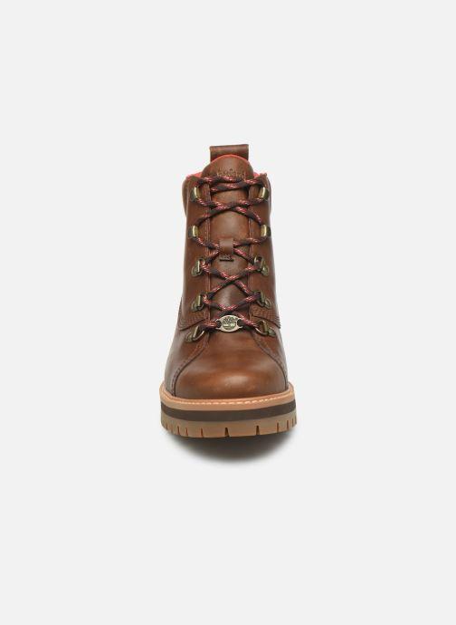 Bottines et boots Timberland Courmayeur Valley WP Hiker Marron vue portées chaussures