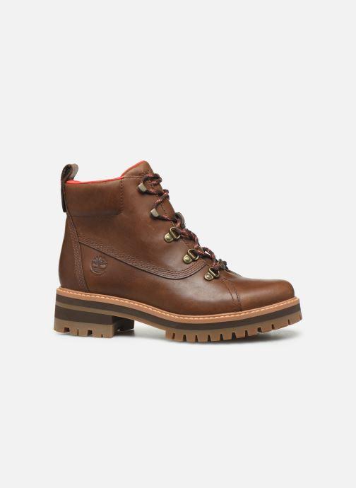 Boots en enkellaarsjes Timberland Courmayeur Valley WP Hiker Bruin achterkant
