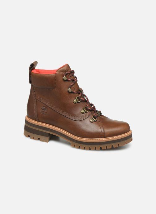 Boots en enkellaarsjes Timberland Courmayeur Valley WP Hiker Bruin detail