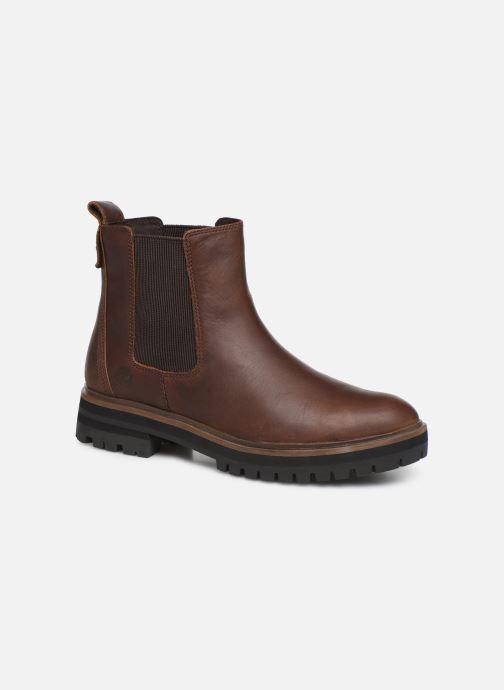 timberland damen schuhe boots 'london square' kastanienbraun