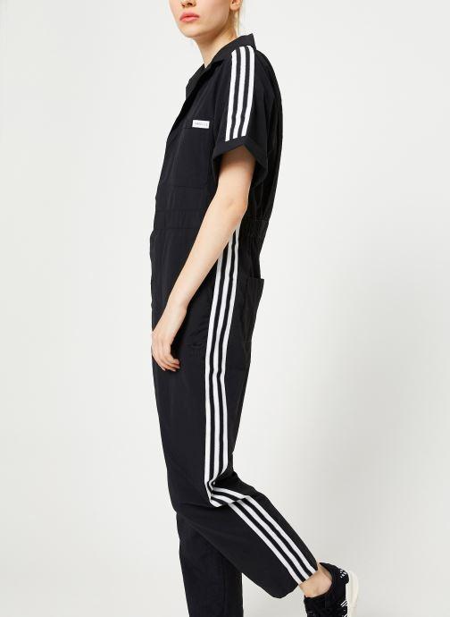 Vêtements adidas originals Jumpsuit Noir vue droite