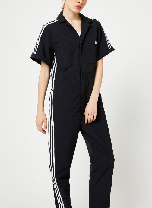 Vêtements adidas originals Jumpsuit Noir vue détail/paire