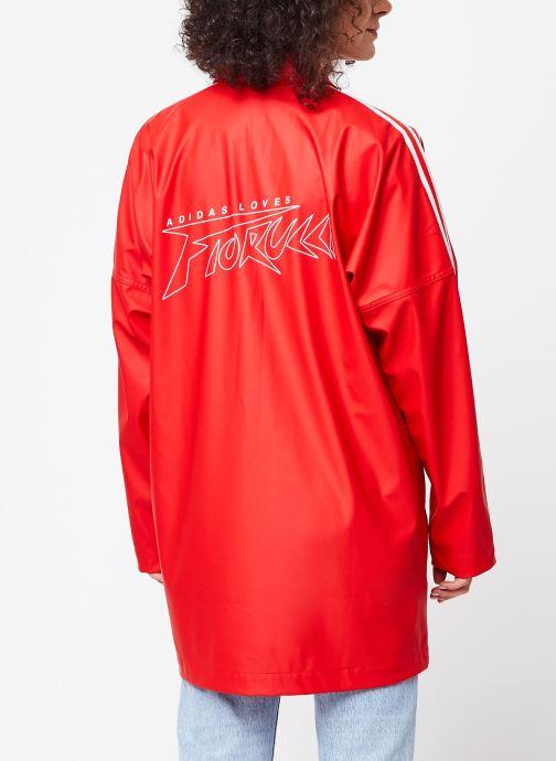 Kleding adidas originals Jacket Rood model