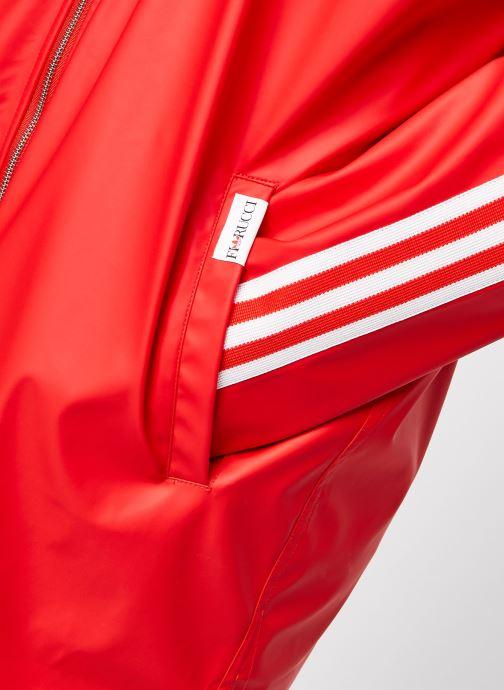 Kleding adidas originals Jacket Rood voorkant