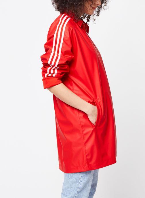 Tøj adidas originals Jacket Rød Se fra højre