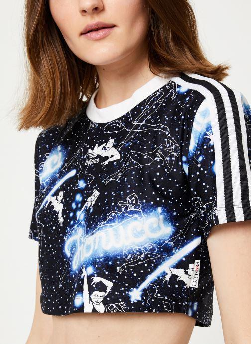 Tøj adidas originals Graphic T-Shirt Sort se forfra