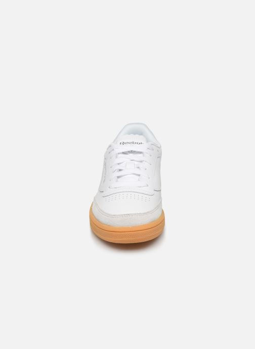 Trainers Reebok Club C 85 New Heel White model view