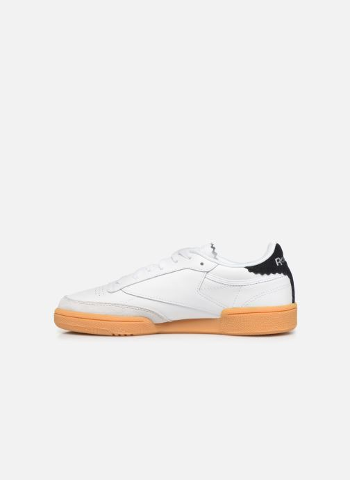 Trainers Reebok Club C 85 New Heel White front view