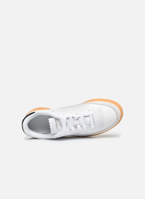 Baskets Reebok Club C 85 New Heel Blanc vue gauche