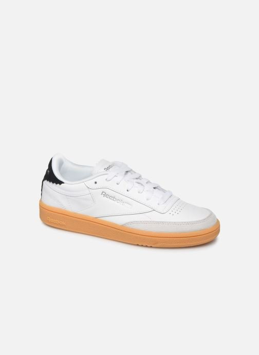 Trainers Reebok Club C 85 New Heel White detailed view/ Pair view
