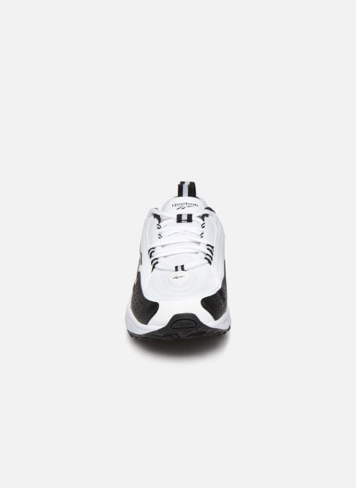 Baskets Reebok Dmx Series 2200 Blanc vue portées chaussures
