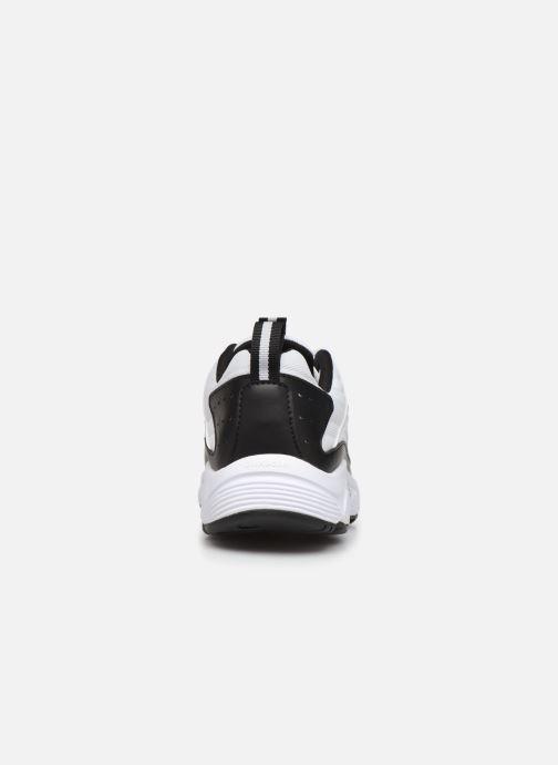 Baskets Reebok Dmx Series 2200 Blanc vue droite
