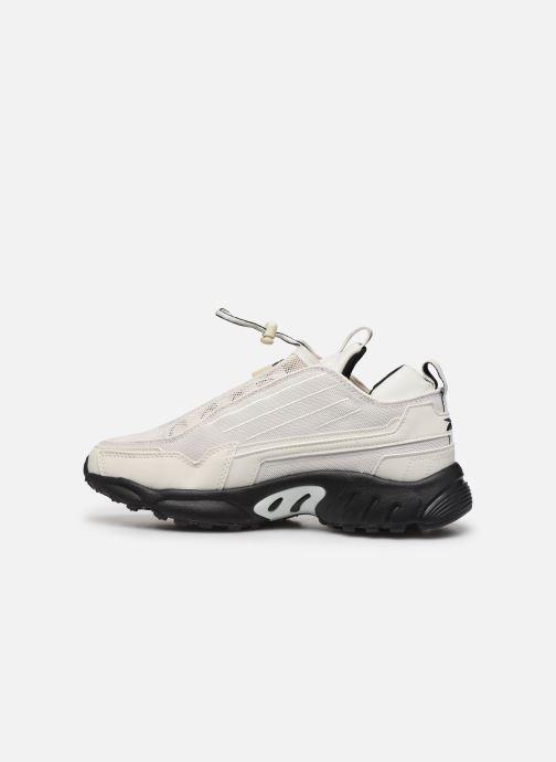 Sneaker Reebok Dmx Series 2200 Zip weiß ansicht von vorne