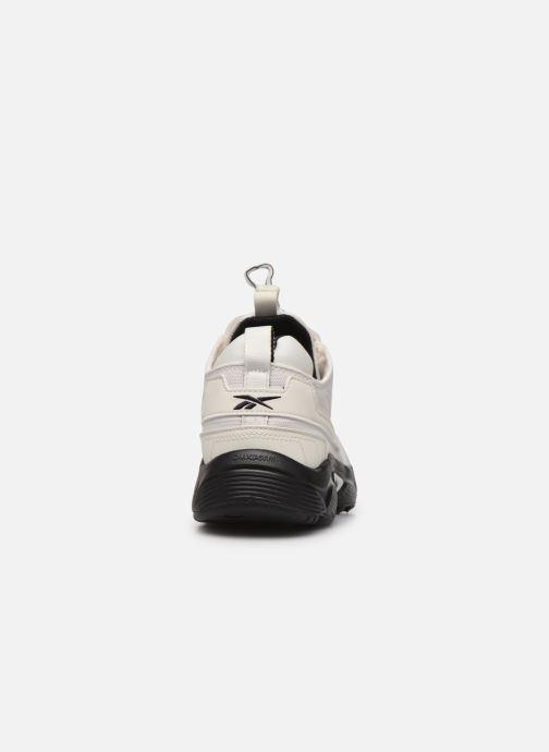 Sneaker Reebok Dmx Series 2200 Zip weiß ansicht von rechts