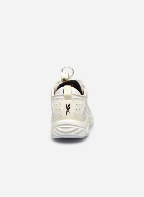 Baskets Reebok Dmx Series 2200 Zip Blanc vue droite