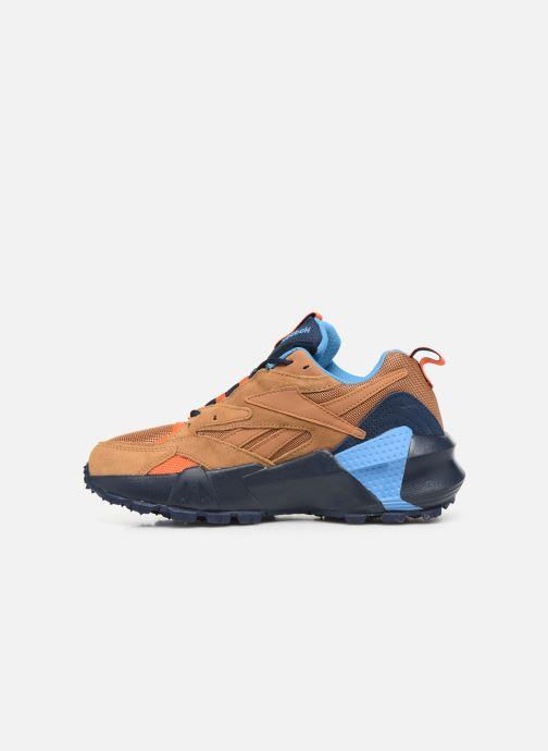 Sneakers Reebok Aztrek Double Mix Trail Marrone immagine frontale