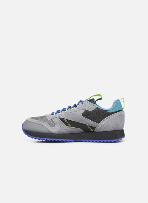 Sneakers Reebok Cl Leather Ripple Trail Grigio immagine frontale