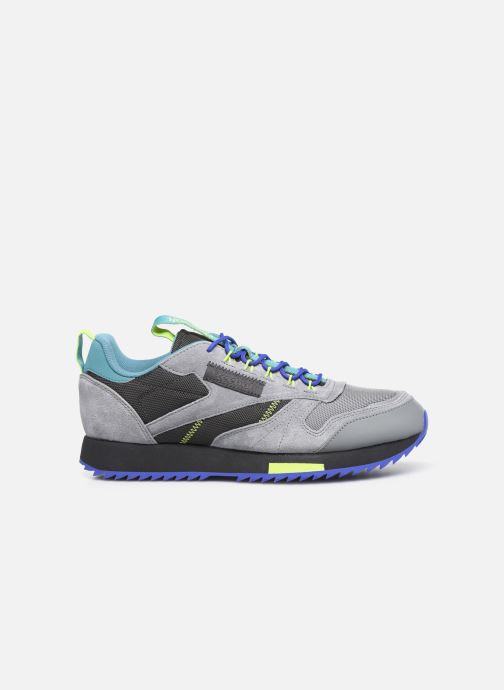 Sneakers Reebok Cl Leather Ripple Trail Grigio immagine posteriore