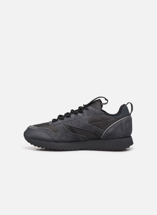 Trainers Reebok Cl Leather Ripple Trail Black front view