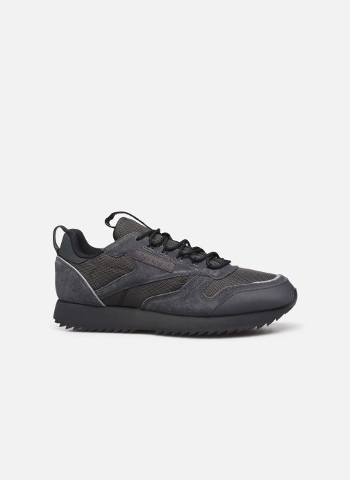 Trainers Reebok Cl Leather Ripple Trail Black back view