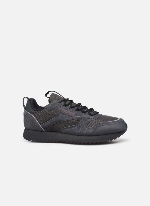 Baskets Reebok Cl Leather Ripple Trail Noir vue derrière