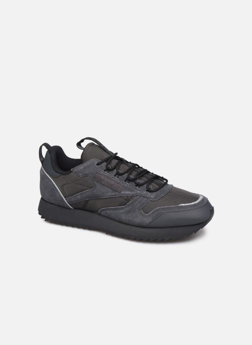 Trainers Reebok Cl Leather Ripple Trail Black detailed view/ Pair view