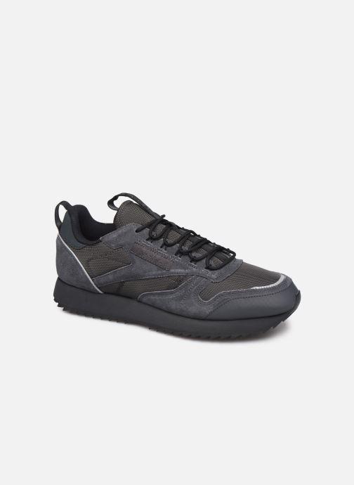 Baskets Reebok Cl Leather Ripple Trail Noir vue détail/paire