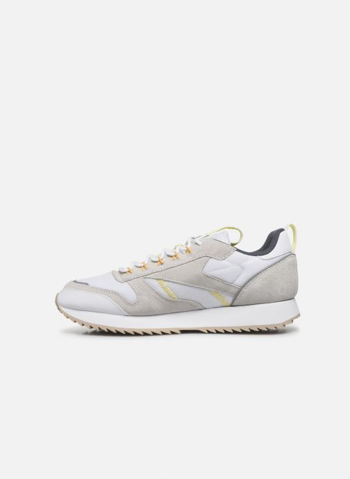 Baskets Reebok Cl Leather Ripple Trail Blanc vue face