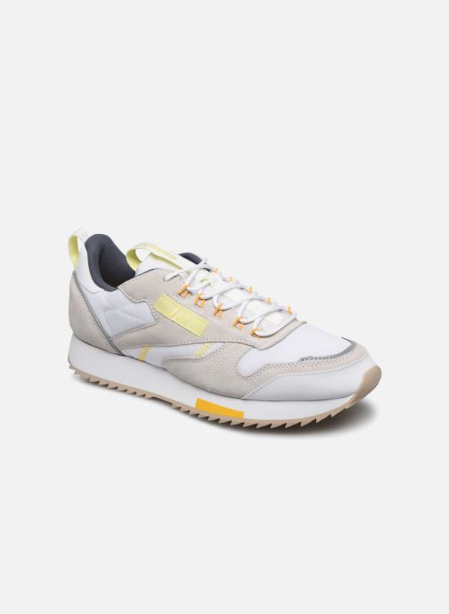 Deportivas Reebok Cl Leather Ripple Trail Blanco vista de detalle / par