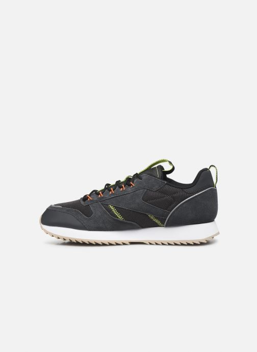 Sneakers Reebok Cl Leather Ripple Trail Nero immagine frontale