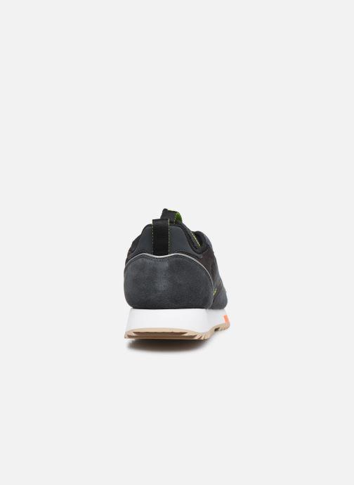 Baskets Reebok Cl Leather Ripple Trail Noir vue droite
