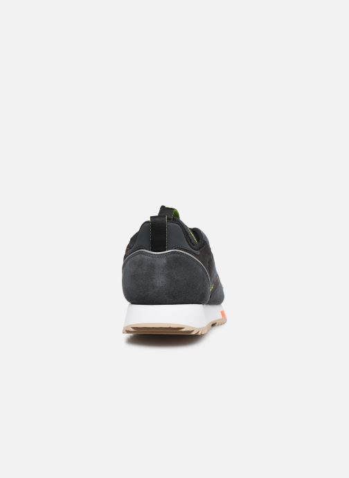 Sneakers Reebok Cl Leather Ripple Trail Nero immagine destra