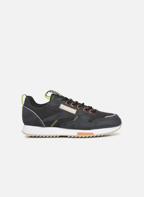 Sneakers Reebok Cl Leather Ripple Trail Nero immagine posteriore