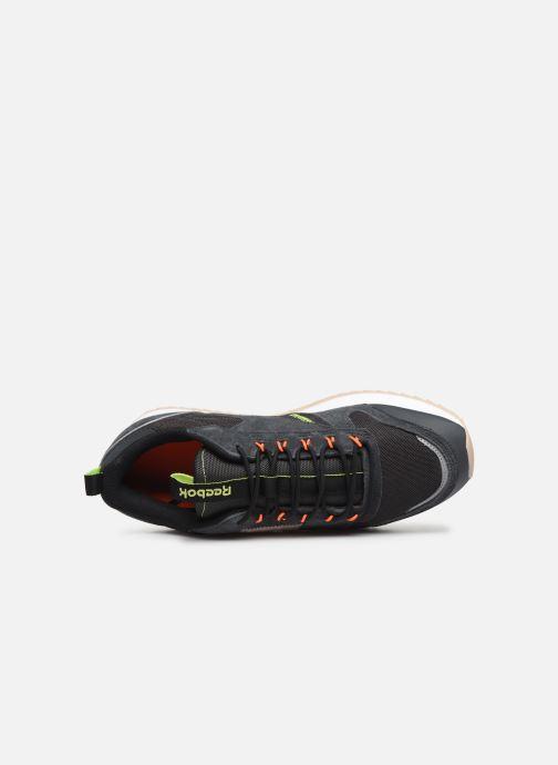 Baskets Reebok Cl Leather Ripple Trail Noir vue gauche