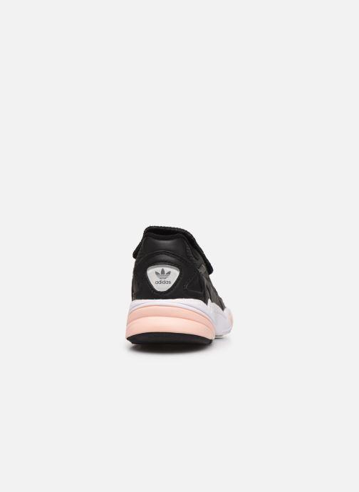 Sneaker adidas originals Falcon Rx W schwarz ansicht von rechts