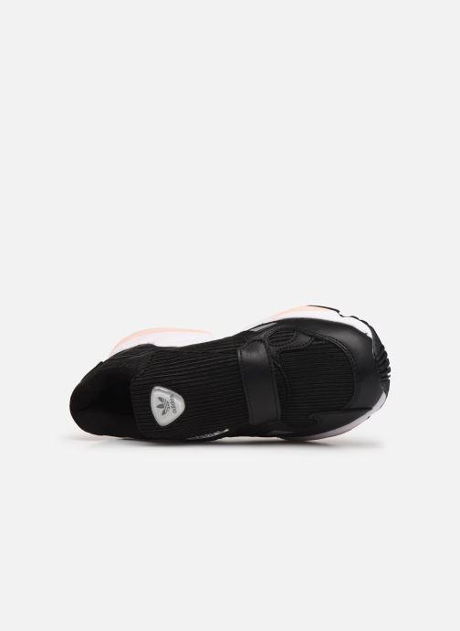 Sneaker adidas originals Falcon Rx W schwarz ansicht von links