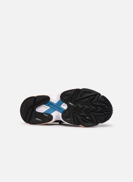 Sneaker adidas originals Falcon Rx W schwarz ansicht von oben