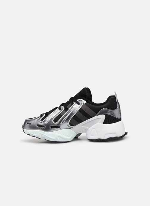 Sneaker adidas originals Eqt Gazelle W schwarz ansicht von vorne