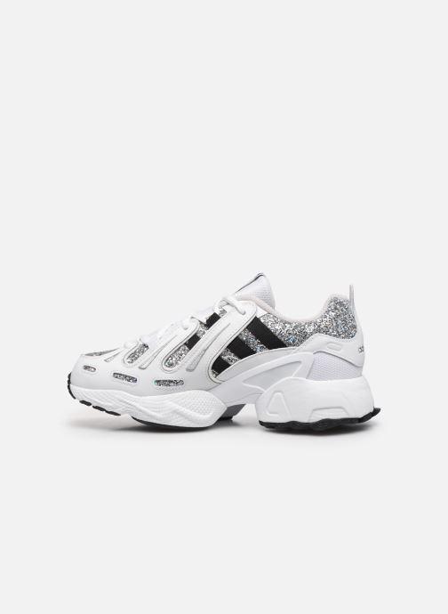 Sneaker adidas originals Eqt Gazelle W weiß ansicht von vorne