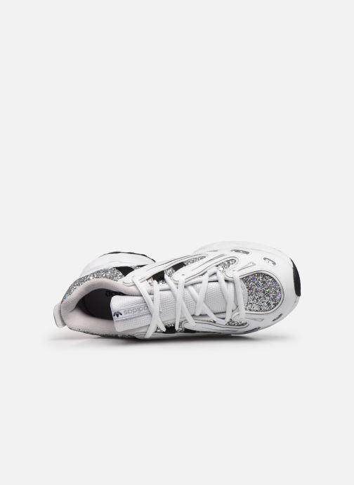 Sneaker adidas originals Eqt Gazelle W weiß ansicht von links