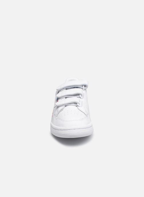 Baskets adidas originals Continental 80 W Strap Blanc vue portées chaussures